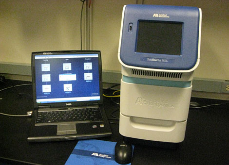 StepOnePlus™ Real-Time PCR System.